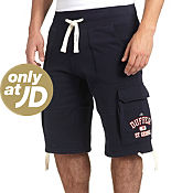 Duffer of St George New Stadium Fleece Cargo Shorts