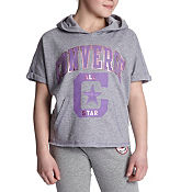 Converse Girls High Low Hoody Junior