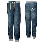 Eto Ribbed Cuffed Jeans Juniors