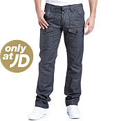 Gio-Goi Dangerous Scale Wash Long Leg Jeans