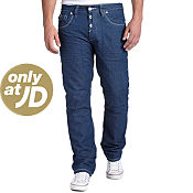 Gio-Goi Demo Petrol Wash Regular Leg Jeans