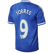 adidas Chelsea 2013/14 Junior Torres Home Shirt
