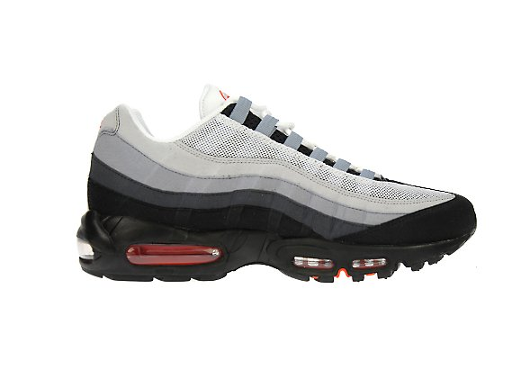 Nike Air Max 95 (Grey Orange )JD Sports Exclusive LTD KIX
